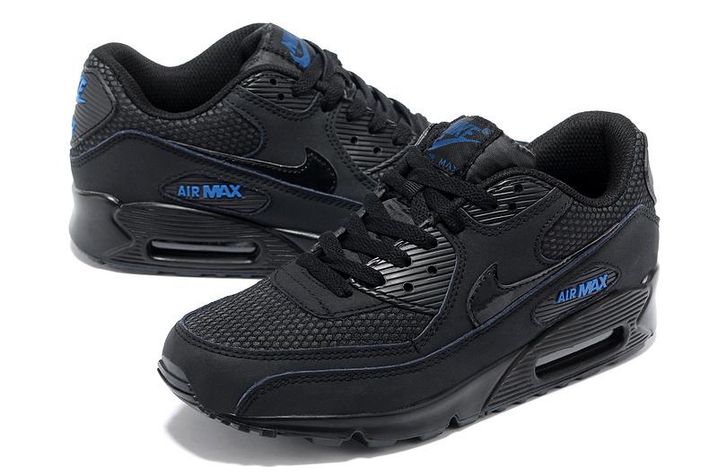 air max noir bleu