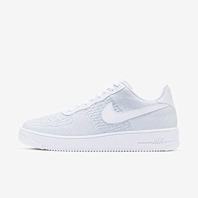 air force 1 flynit homme blanc